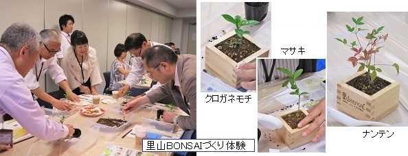 日清製粉グループ様 「里山BONSAI」ワークショップ に参画!