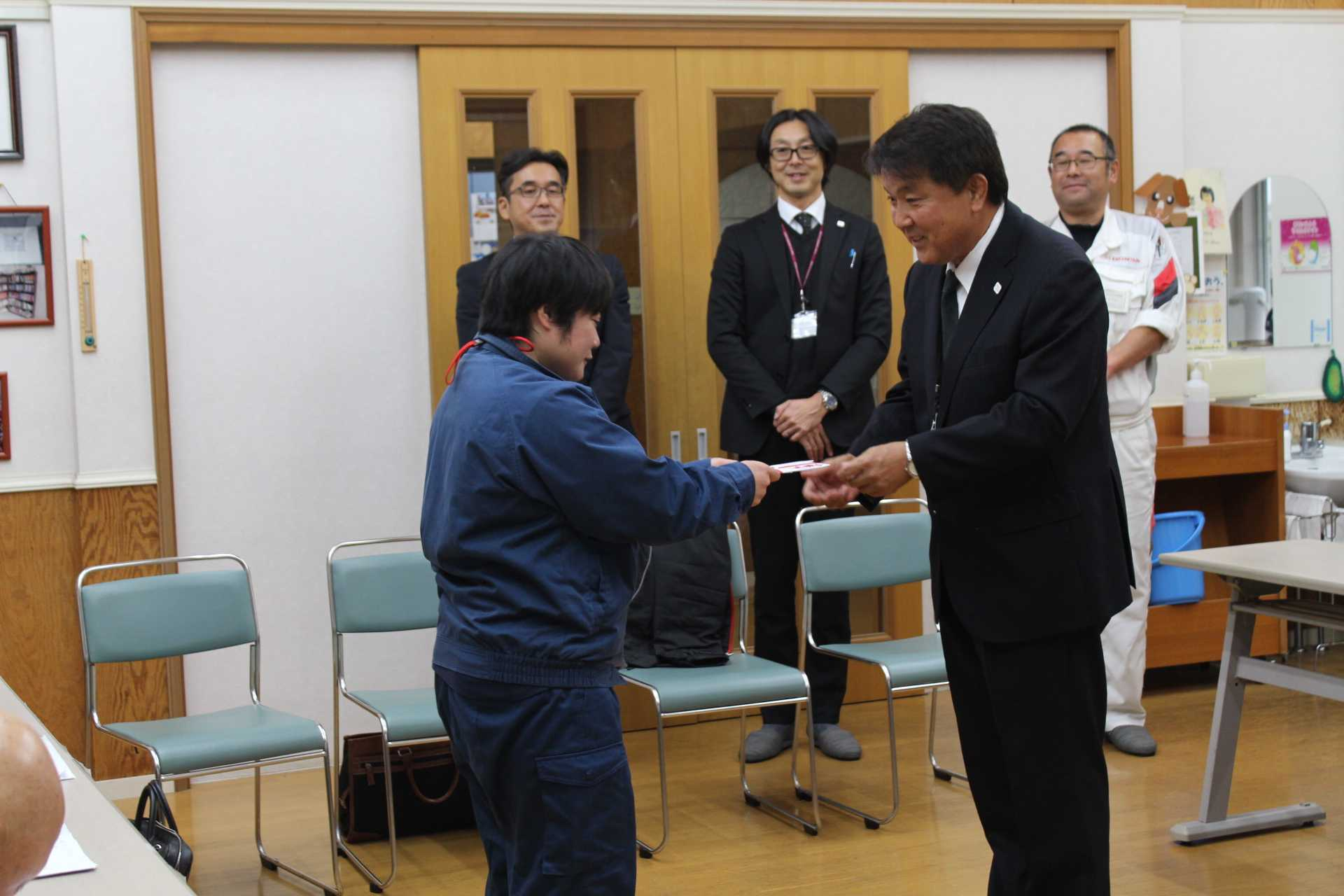 ホンダカーズ神奈川南様 チャリティ募金贈呈式