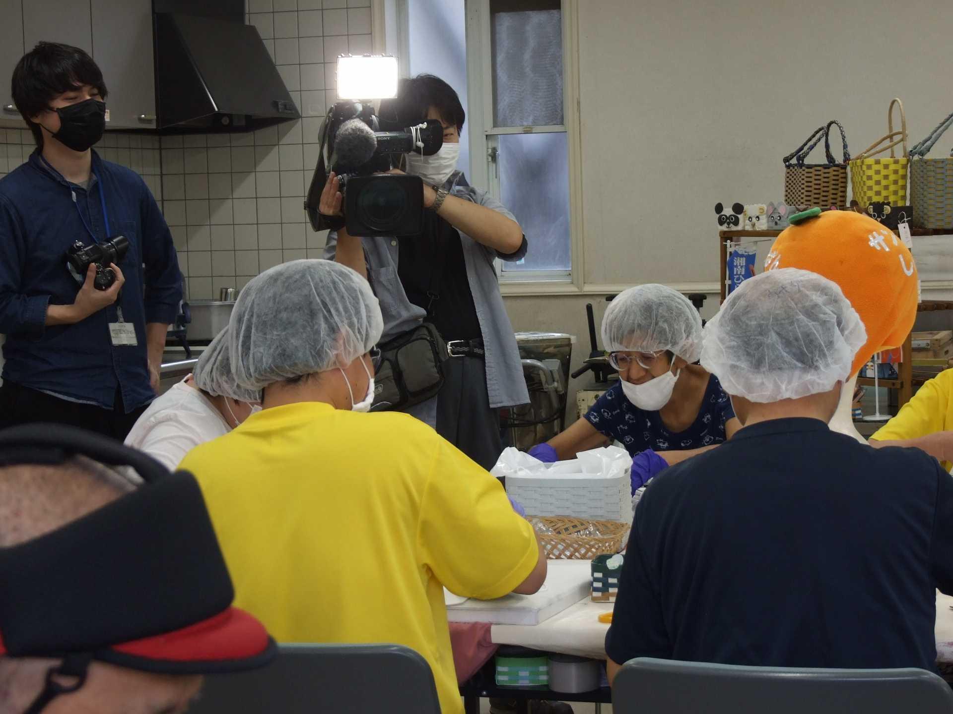 テレビ神奈川「カナフルTV」で放映されました